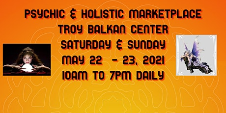 Rock Your World Psychic & Holistic 2 Day Marketplace Troy Balkan Center tickets