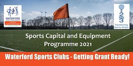Sports Capital and Equipment Club Information Webinar - 2nd February 2021 tickets