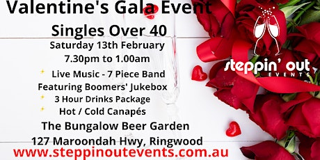 Annual Valentine's Event for Singles over 40 tickets