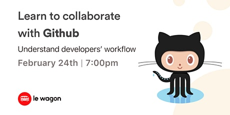[Free Workshop] Learn to collaborate with GitHub! entradas