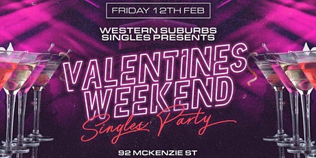 Western Suburbs Singles Official Valentines Party! tickets