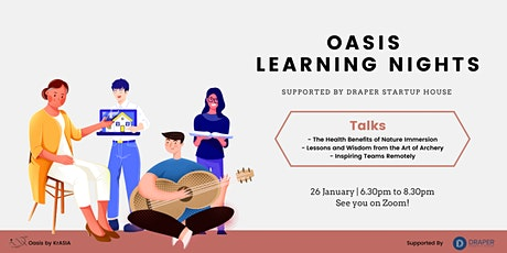 Oasis Learning Nights tickets