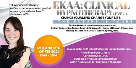 EKAA Level 1 of Integrated Clinical Hypnotherapy tickets