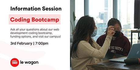 Discover our Coding Bootcamp - Information Session tickets