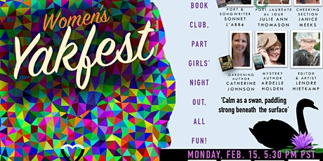 Monday, Feb. 15, Women's (Winter) Yakfest 5:30 pm Pacific time tickets