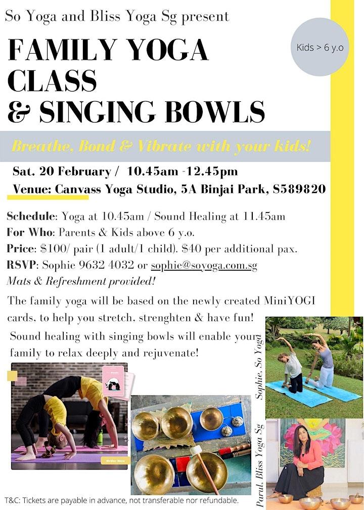 FamilyYoga & Singing Bowls image