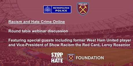 Racism and Hate Crime Online tickets