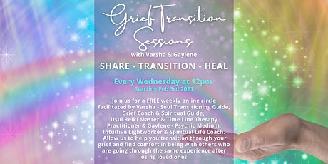 Grief Transition Sessions tickets