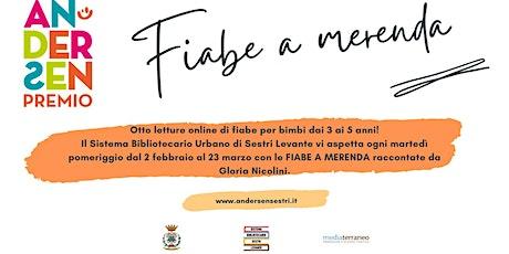 FIABE A MERENDA - NON VOGLIO DIVENTARE GRANDE biglietti