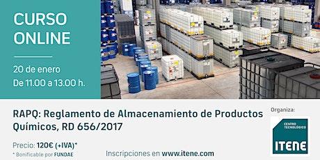 Reposición-RAPQ: Reglamento de Almacenamiento de Productos Químicos entradas