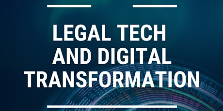 Discussing Legal Tech and Digital Transformation tickets