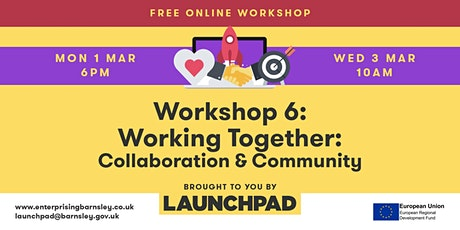 Workshop 6 - The Importance of Collaboration and Community tickets