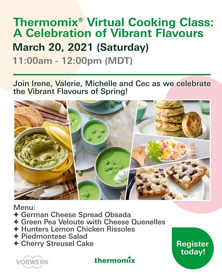 Thermomix® Advanced Cooking Class: A Celebration of Vibrant Flavours image
