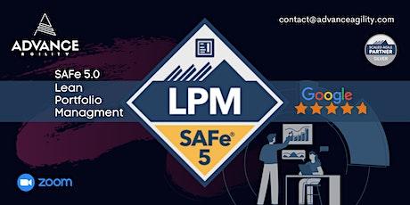 SAFe LPM (Online/Zoom) Mar 20-21, Sat-Sun, California Time (PST) tickets