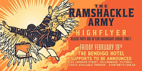 THE RAMSHACKLE ARMY RETURN! tickets