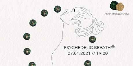 Psychedelic Breath with Anna-Theresa Krug 27.01.2021 tickets