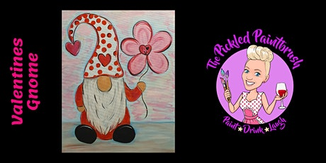 Painting Class - Valentines Gnome - February 7, 2021 tickets