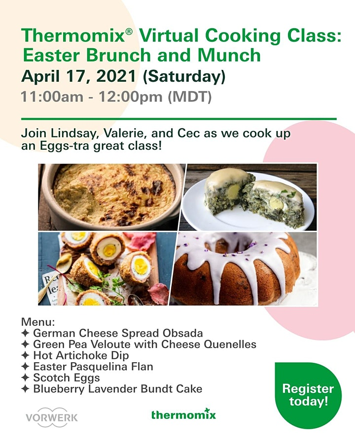Thermomix® Advanced Cooking Class: Easter Brunch and Munch image