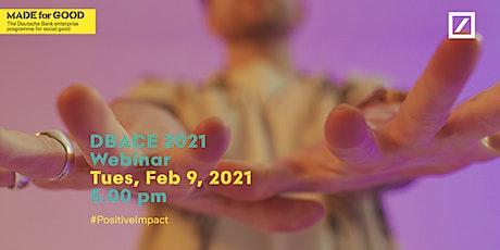 DBACE 2021 Webinar Event tickets