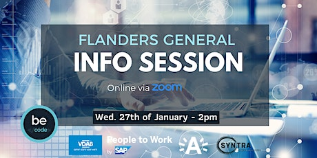 Flanders General Info Session tickets