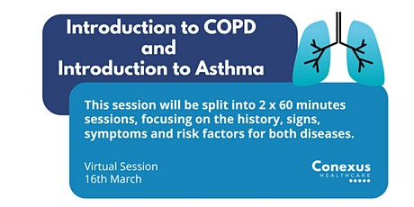 Introduction to COPD & Introduction to Asthma tickets