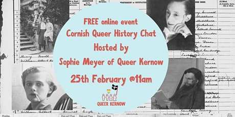 Cornish Queer History Chat tickets