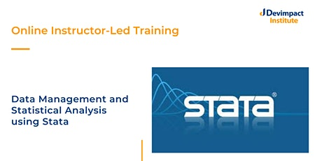 Training on Data Management and Statistical Analysis using Stata tickets