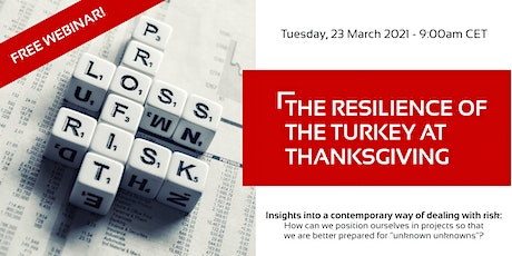 FREE WEBINAR: The Resilience of the Turkey at Thanksgiving tickets