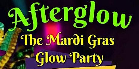 Afterglow Mardi gras glow party tickets