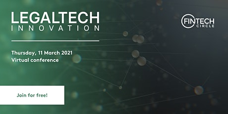 LEGALTECH Innovation: Virtual Conference tickets