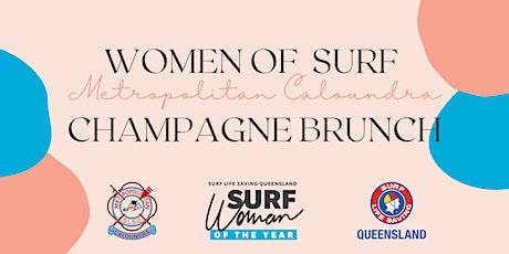 Metropolitan Caloundra Surf Sisters Champagne Brunch tickets