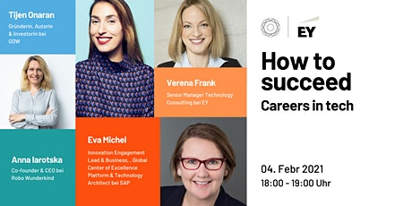 How to Succeed - Careers in Tech | GDWxEY Tickets