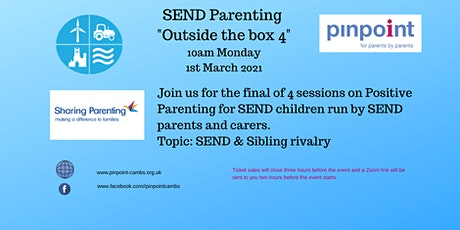 FINAL SEND parent carer course  - Outside the Box - Session 4 tickets