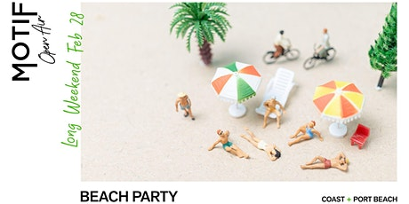 Motif Open Air //  Beach Party tickets