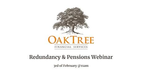 Redundancy and Pensions Webinar tickets