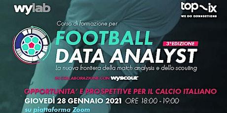 Football Data Analyst biglietti