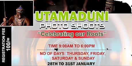 "THE ""UTAMADUNI"" PHOTO SHOOT tickets"