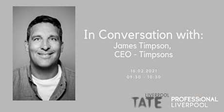 In Conversation with: James Timpson, CEO of Timpsons tickets