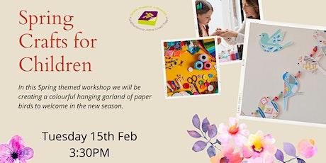 Spring Crafts for Children tickets