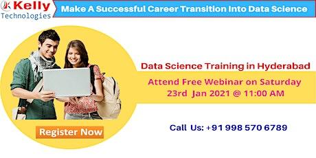 Data Science Webiner On On Saturday 23rd  Jan 2021@11 AM, In Hyd tickets