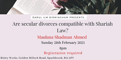 Are secular divorces compatible with Sharia Law?