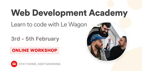 [WEB DEVELOPMENT ACADEMY ] tickets