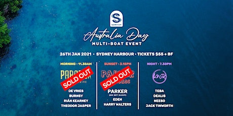 Australia Day Multi-Cruise tickets