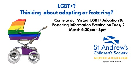 Virtual LGBT+ Adoption & Fostering Information Evening tickets