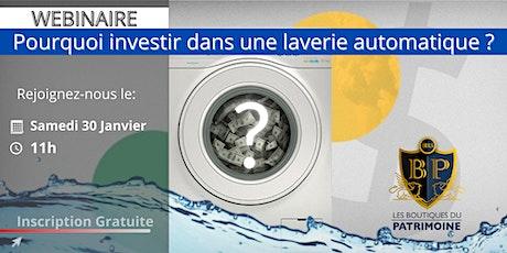 Pourquoi investir dans une laverie automatique aux Etats-Unis ? billets