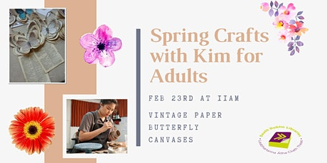 Spring Crafts with Kim for Adults tickets