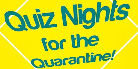 Quiz Nights for the Quarantine: General Knowledge Quiz! tickets
