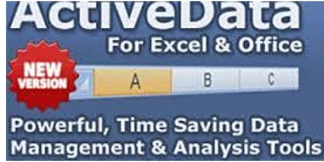 Activedata for Excel tickets
