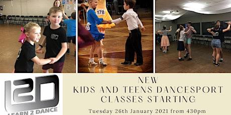 NEW Kids Dancesport Classes tickets