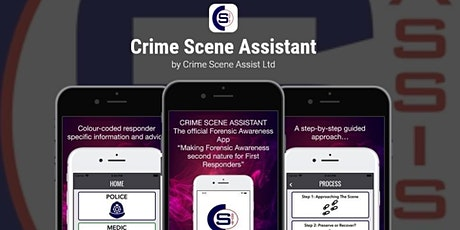 Crime Scene Assistant - App Showcase for Training and First Responders tickets